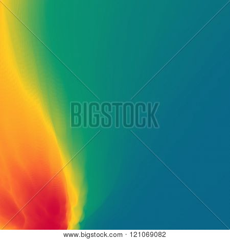 Flame Fire Vector Background. Abstract Fire Vector Background. Fire Background for Design and Presentation. Vector illustration. Place for your Text.
