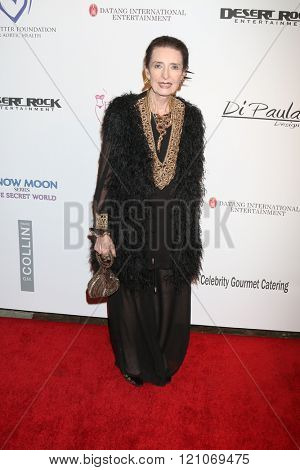 LOS ANGELES - FEB 28:  Margaret O'Brien at the Style Hollywood Viewing Party 2016 at the Hollywood Museum on February 28, 2016 in Los Angeles, CA