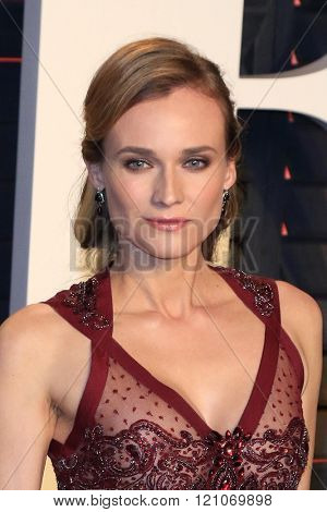 LOS ANGELES - MAR 3:  Diane Kruger at the Bosch Season 2 Premiere Screening at the Silver Screen Theater at the Pacific Design Center on March 3, 2016 in West Hollywood, CA