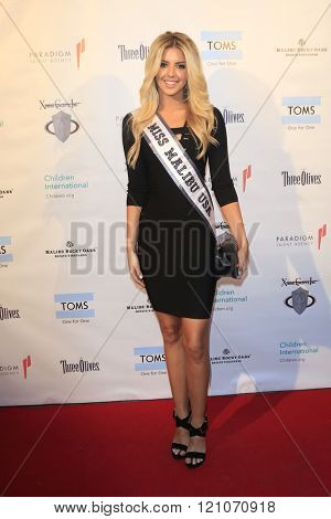LOS ANGELES - MAR 5:  Brooke Ashlynn Miller at the Children International Charity's Share The Love Around The World Fundraiser at the Rocky Oaks Malibu on March 5, 2016 in Malibu, CA