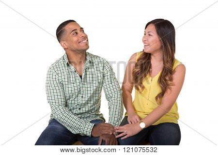 Couple interacting