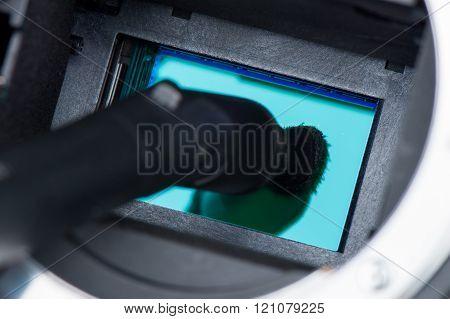 sensor cleaning tool for digital SLR camera
