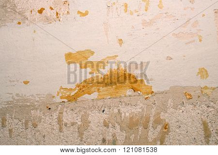 The Texture Of The Wall At Home