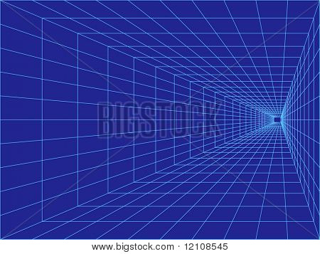 perspective grid great business background-vector also available