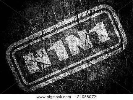 Stamp With H1N1 Text Over Grunge Background