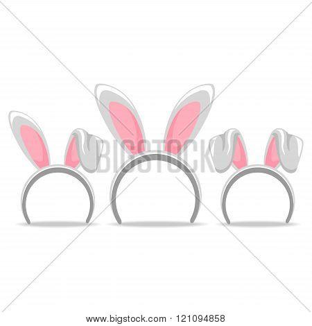 Easter Hair Band Bunny