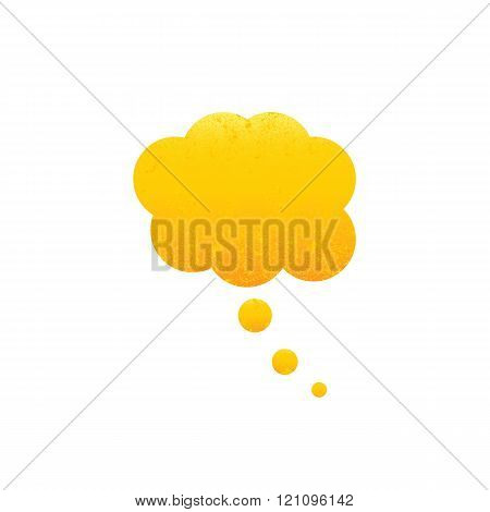 Shabby Golden Dream Bubble