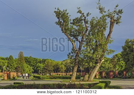 Herastrau Park In Bucharest, Romania