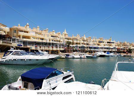 Benalmadena marina, Spain.