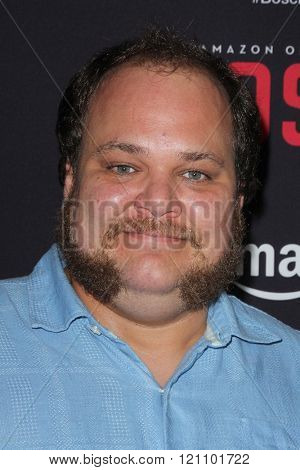 LOS ANGELES - MAR 3:  Michael Villar at the Bosch Season 2 Premiere Screening at the Silver Screen Theater at the Pacific Design Center on March 3, 2016 in West Hollywood, CA