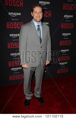 LOS ANGELES - MAR 3:  Jesse Voccia at the Bosch Season 2 Premiere Screening at the Silver Screen Theater at the Pacific Design Center on March 3, 2016 in West Hollywood, CA