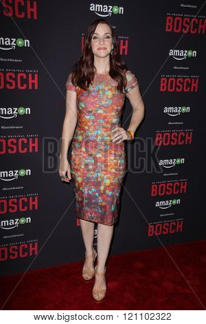 LOS ANGELES - MAR 3:  Annie Wersching at the Bosch Season 2 Premiere Screening at the Silver Screen Theater at the Pacific Design Center on March 3, 2016 in West Hollywood, CA