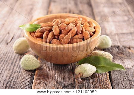 bowl of almond