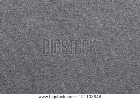 Textured Background From Textile Fabric Of Pale Silvery Color