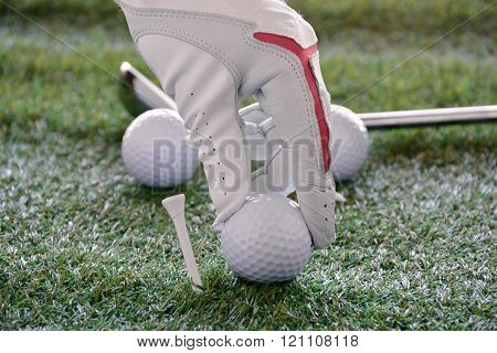 Sport Objects Related To Golf S