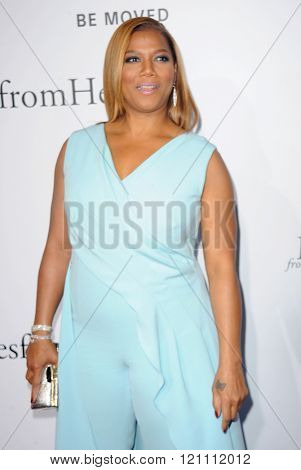 Queen Latifah at the Los Angeles premiere of 'Miracles From Heaven' held at the ArcLight Cinemas in Hollywood, USA on March 9, 2016.