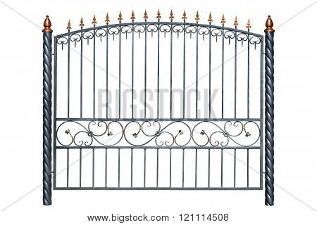 Iron Forged Fence.