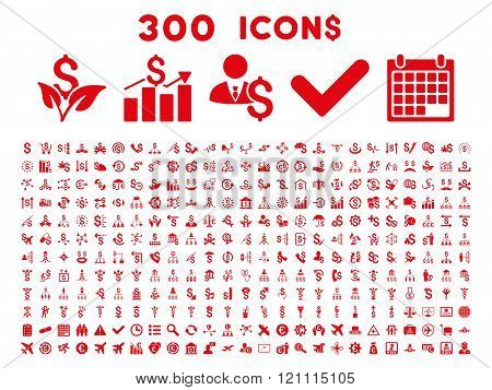 300 Flat Vector Business Icons