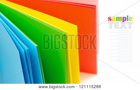 Rainbow Colorful Paper For Your Design
