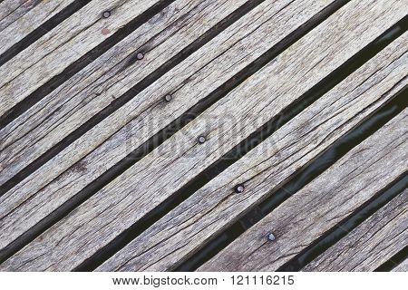 Texture Background  Grey Wooden Diagonal Floor Boards