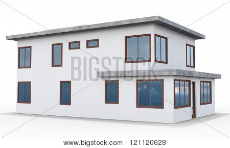 3D Contemporary House