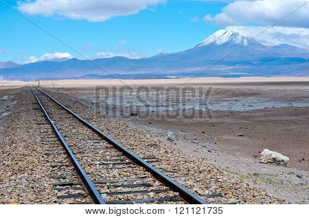 Railroad Between Bolivia And Chile