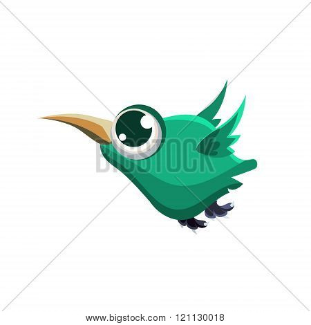 Fat Turquoise Honeycreeper