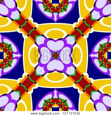 Seamless Abstract Geometric Wallpaper