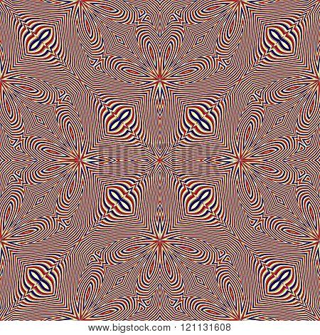 Seamless Stripy Curved Stripes