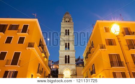 Bell Tower Of The Cathedral Basilica Of Gaeta