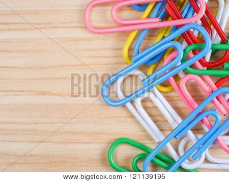 Close Up Paper Clip