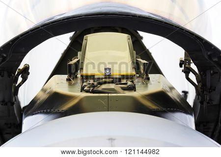 Front view cockpit