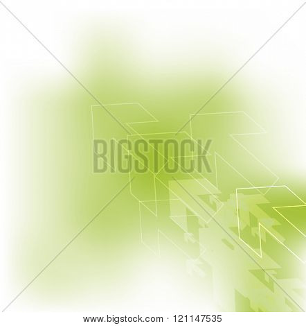 Abstract background template - futuristic texture