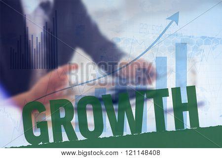 Growth against blue data