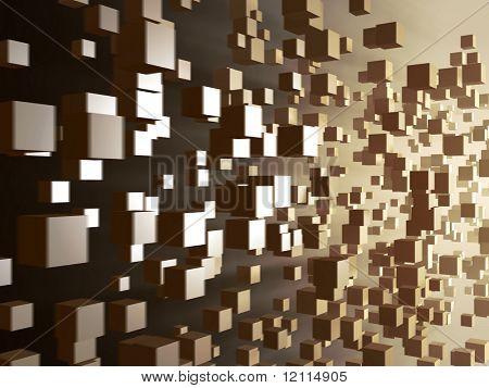 cube digital explosion