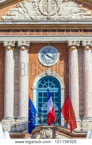 City Hall Of Toulouse, France
