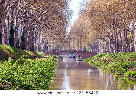 Canal De Brienne, Toulouse, France