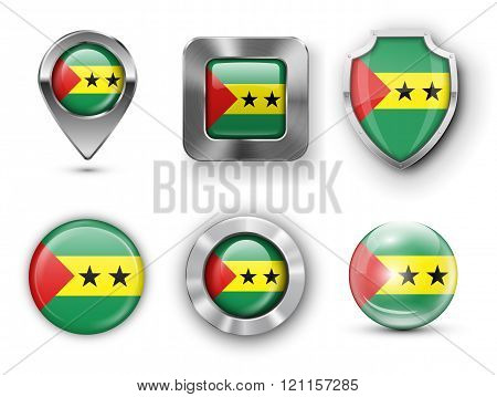 Country Flag Bages
