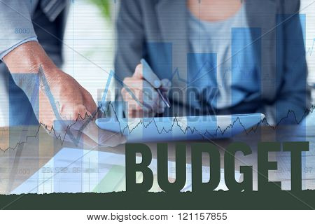 Budget against blue data