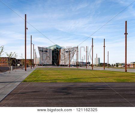 Titanic Visitor Center In Belfast