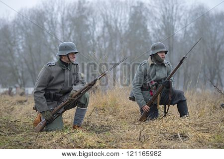 German soldiers during the First world war