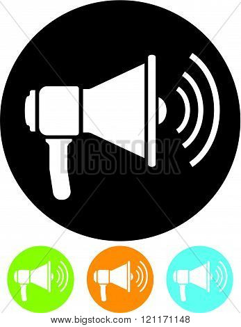 Speaker - Vector illustration