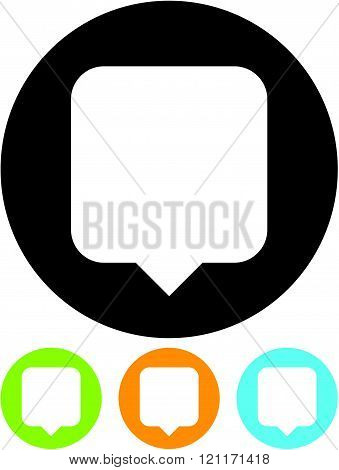 Location GPS Pin - Vector icon isolated
