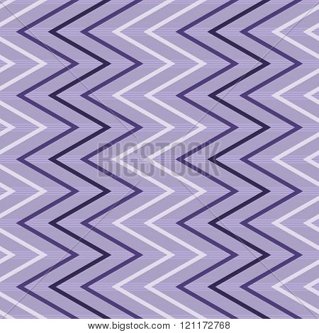 Seamless Vertical Zigzag Pattern On Striped Background