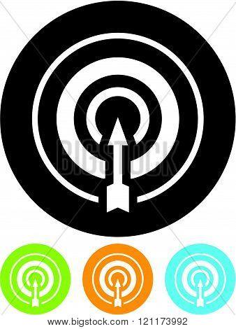 Target arrow