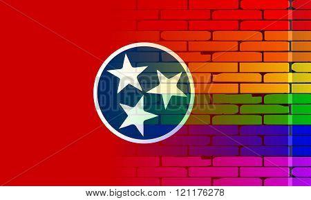 Rainbow Wall Tennessee