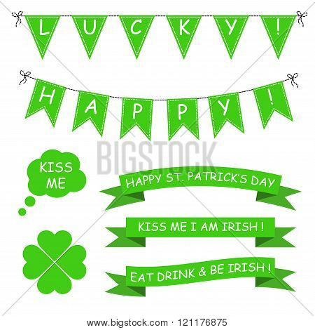 St Patricks Day Vector Set