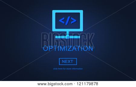 Optimization Accuracy Productvity Efficiency Quality Concept