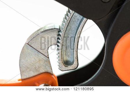 Metal Ratchet Clamp A Plastic - Tool Carpenter, Macro