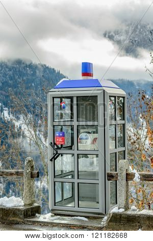 Swisscom Public Call Box
